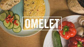 EPIC HANDHELD B ROLL TASTY FOOD SHOTS - OMELET