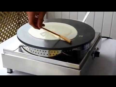 Como hacer crepes en crepera jinama youtube - Videos de como hacer crepes ...