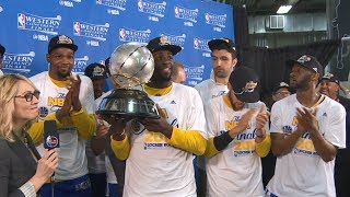 2017 Western Conference Champions: Golden State Warriors | May 22, 2017