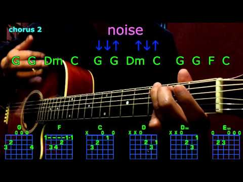 noise kenny chesney guitar chords