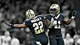 Mark Ingram & Alvin Kamara || Young Fly N**** || Highlights || 2017-2018 Season