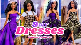 DIY - How t๐ Make: 9 Dresses Without a Pattern!