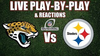 Jaguars vs Steelers | Live Play-By-Play & Reactions
