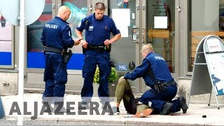 Six arrested after Finland stabbing attack thumbnail