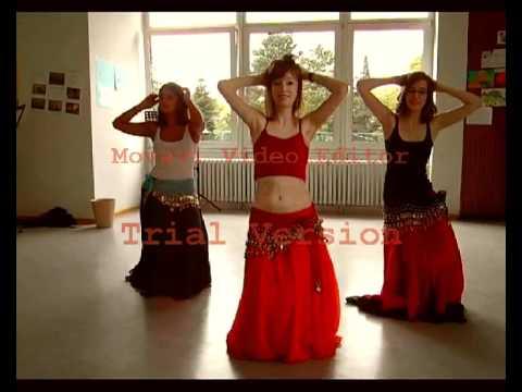 Beginners Belly Dance - Habibi ya Eini - YouTube