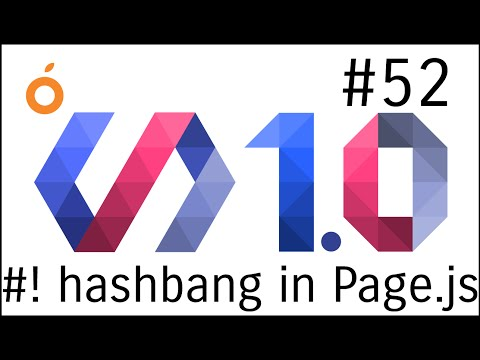 Polymer 1.0 Tutorials #52 HashBang in Page js Router Part 3 in Polymer web app