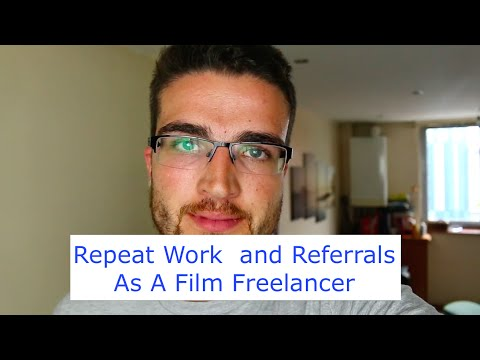 Repeat and Referral Work As A Freelance Soundie