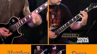 ‪Trivium - Guitar Lessons 2011 (2/2)‬(Contents from bonus DVD of Young Guitar magazine August 2011 issue. Get your copy from the links below! Young Guitar magazine website youngguitar.jp For ..., 2011-09-29T16:01:02.000Z)