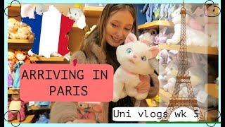 Arriving in PARIS Uni Weekly vlogs week 5 part 1