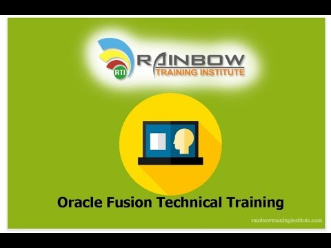 Oracle Fusion HCM Technical Online Training-Day -1