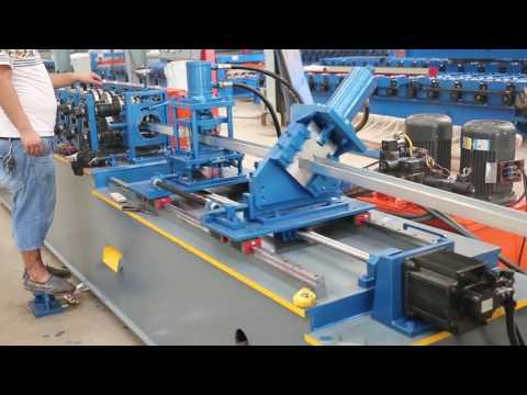 Strut channel roll forming machine  light steel roll forming machine