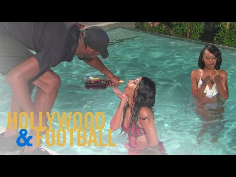 L.A. Rams Pool Party Gets Way Too Wild! | Hollywood & Football | E!