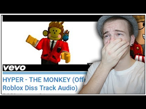 REACTING TO HYPER'S DISS TRACK ON ME!! (Roblox Diss Track)