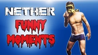 NETHER Funny Moments (Noob Adventure) With Fanart
