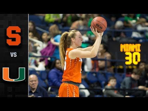 syracuse-vs.-miami-acc-women's-basketball-tournament-highlights-(2019)