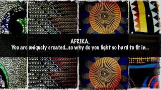 """Nelson Mandela - The Song Lives On: """"AFRIKA YOUR SONG LIVES ON / HOW TO WEAR AFRIKA"""""""