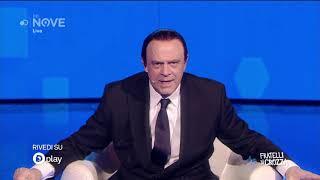 """Crozza Berlusconi """"Ho nostalgia di quando avevo gli occhi aperti"""""""