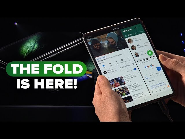 Watch Samsung unveil the Galaxy Fold