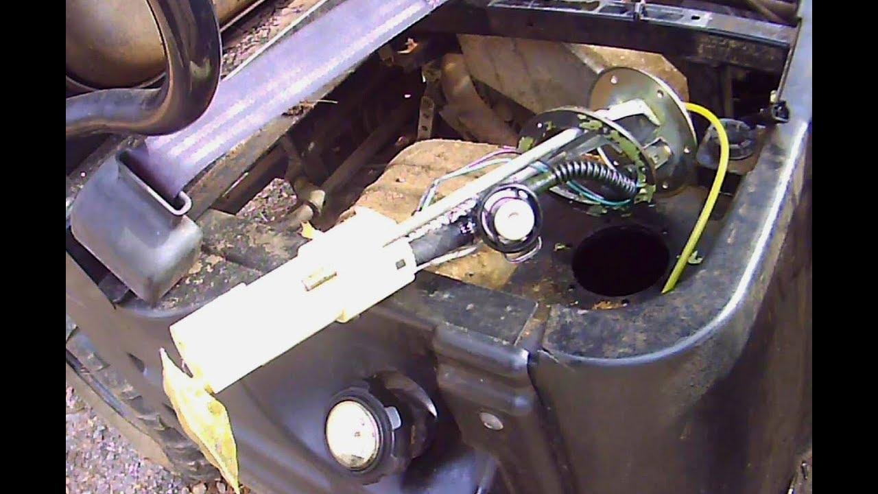 Polaris Ranger 500 efi, 2005-2010 Fuel Pump Replacement - YouTubeYouTube