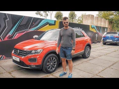 Обзор Volkswagen T-ROC | Первые впечатления и презентация VW T-ROC - компактного кроссовера VW
