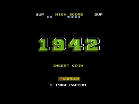 1942 Stage 1 To 4 Midway 1984 Capcom Mame Retro Arcade Games