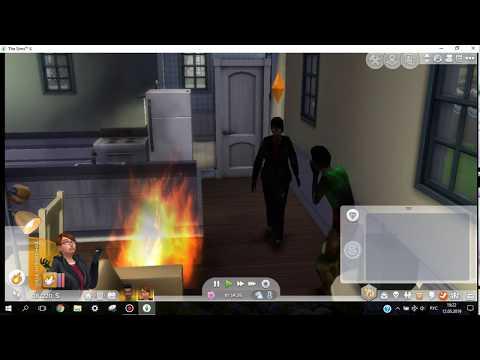 Как вызвать пожар в симс 4