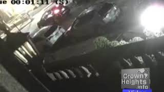 Survailence Footage of Beating of Jewish Man in Crown Heights