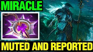 Muted And Reported - Miracle- Storm Spirit Null Fier - Dota 2