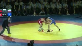 ЧМ-2014. 70 кг. Хетаг Цаболов - Якуб Гор (Турция). Финал