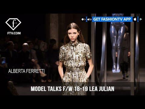 Lea Julian Model Talks Fall/Winter 2018-19   FashionTV   FTV