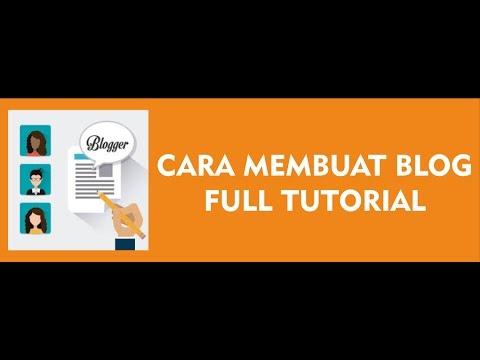 Cara Membuat Blog Yang Menghasilkan Uang Full Tutorial - Blogger Indonesia