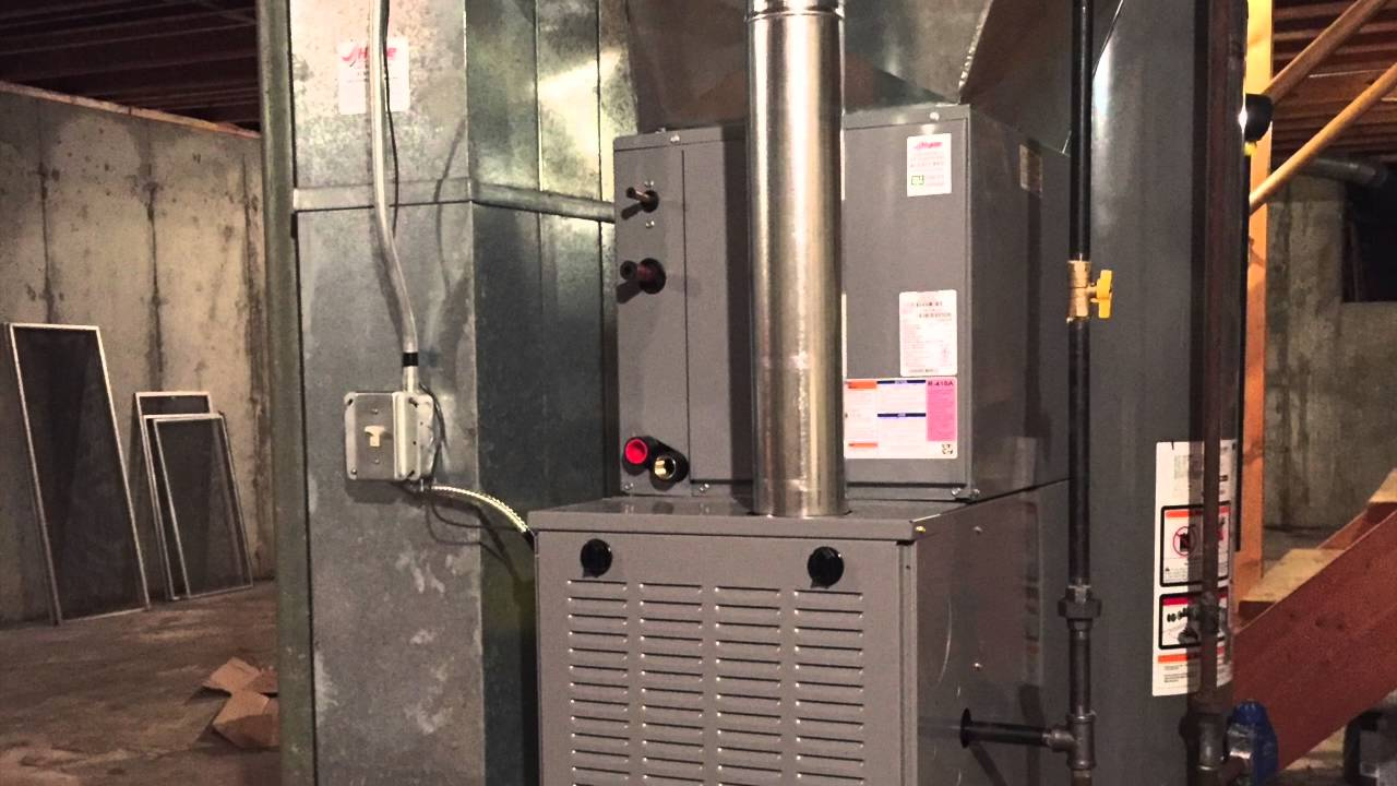 Day And Night 80 Furnace Installation Youtube