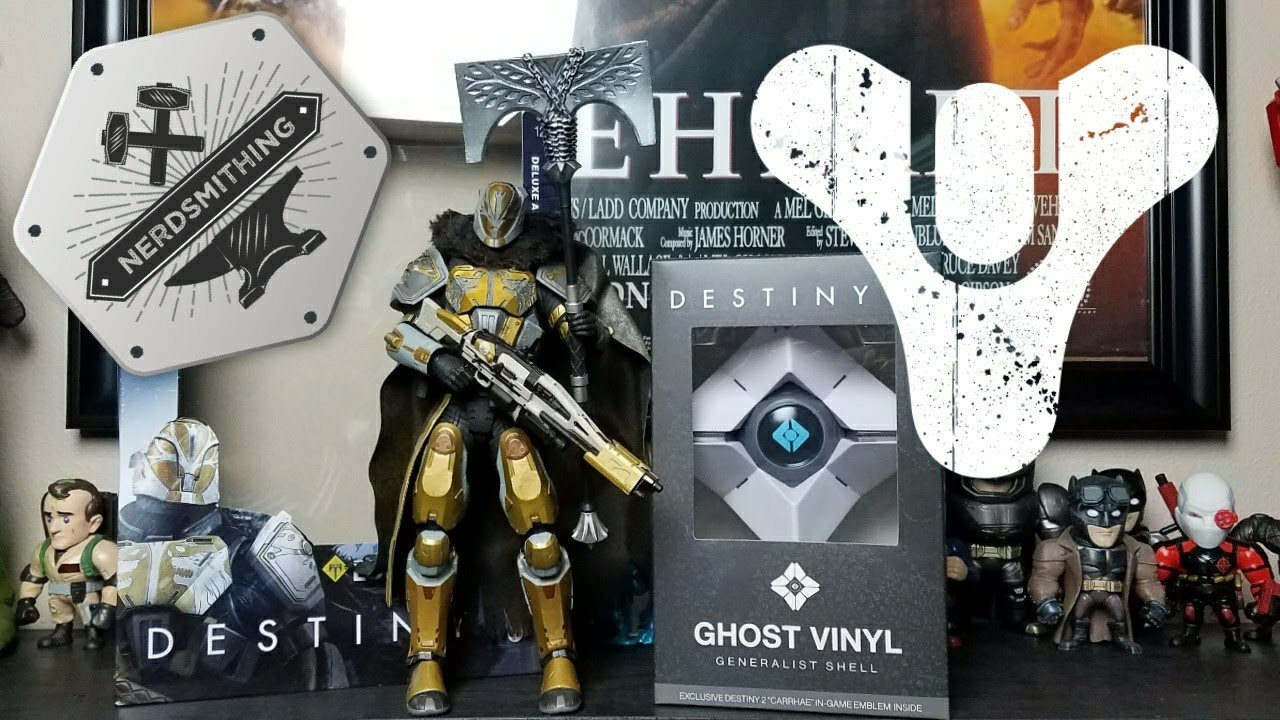 018b27cd758 Destiny Ghost and Lord Saladin unboxing and review - YouTube