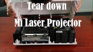 What's inside Mi Laser Projector? Tear down Mi Laser Projector TV #SamiLuo