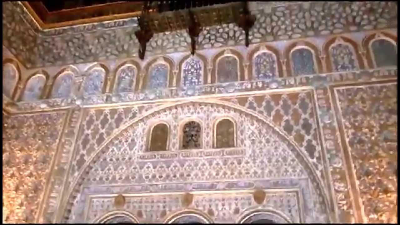 Sala de los embajadores real alc zar sevilla youtube for Sala obbio sevilla