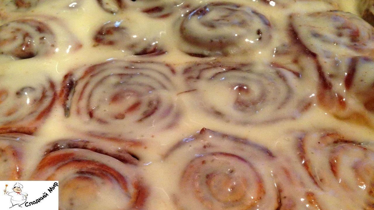 видео рецепт булочка с корицей рецепт с фото синабон