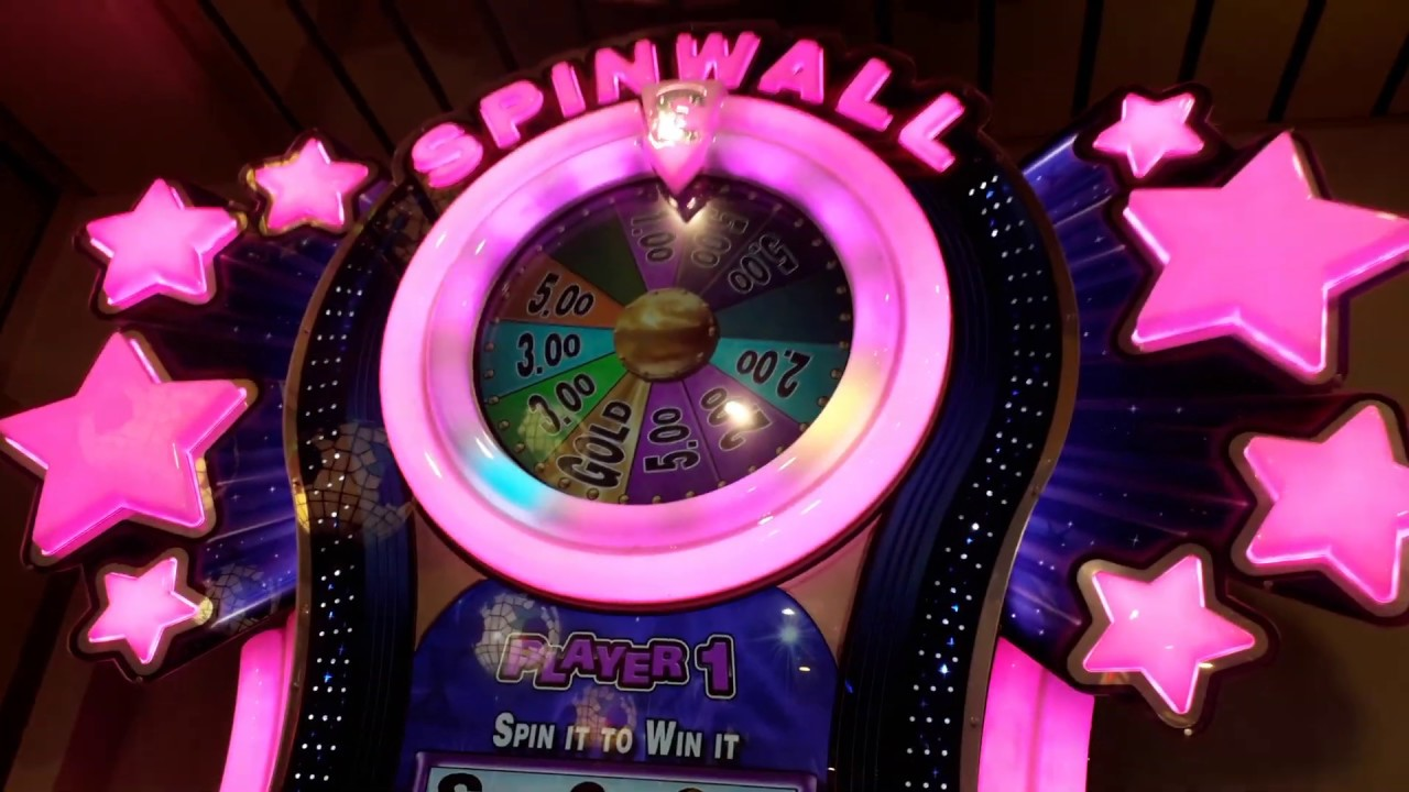 ASTRA SPINWALL JACKPOT AND FEATURES - WSM GRAND PIER 2019 UK ARCADES