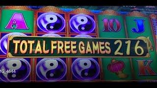 BIG WIN High Limit China Shores Multiple Retrigger 280 Spins Slot Jackpot Handpay Win Bonus Slots