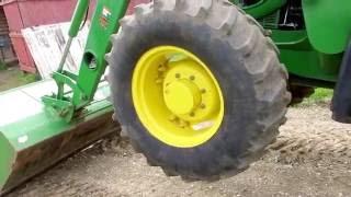 Gambar cover 2011 John Deere 6115D MFWD Tractor and Loader