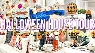 ✨NEW! FALL/HALLOWEEN HOUSE TOUR 2019 | DECORATE WITH ME | Love Meg