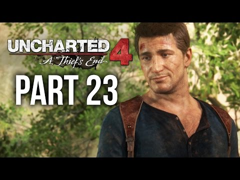 Uncharted 4 Gameplay Walkthrough Part 23 - NO ESCAPE (Chapter 21)