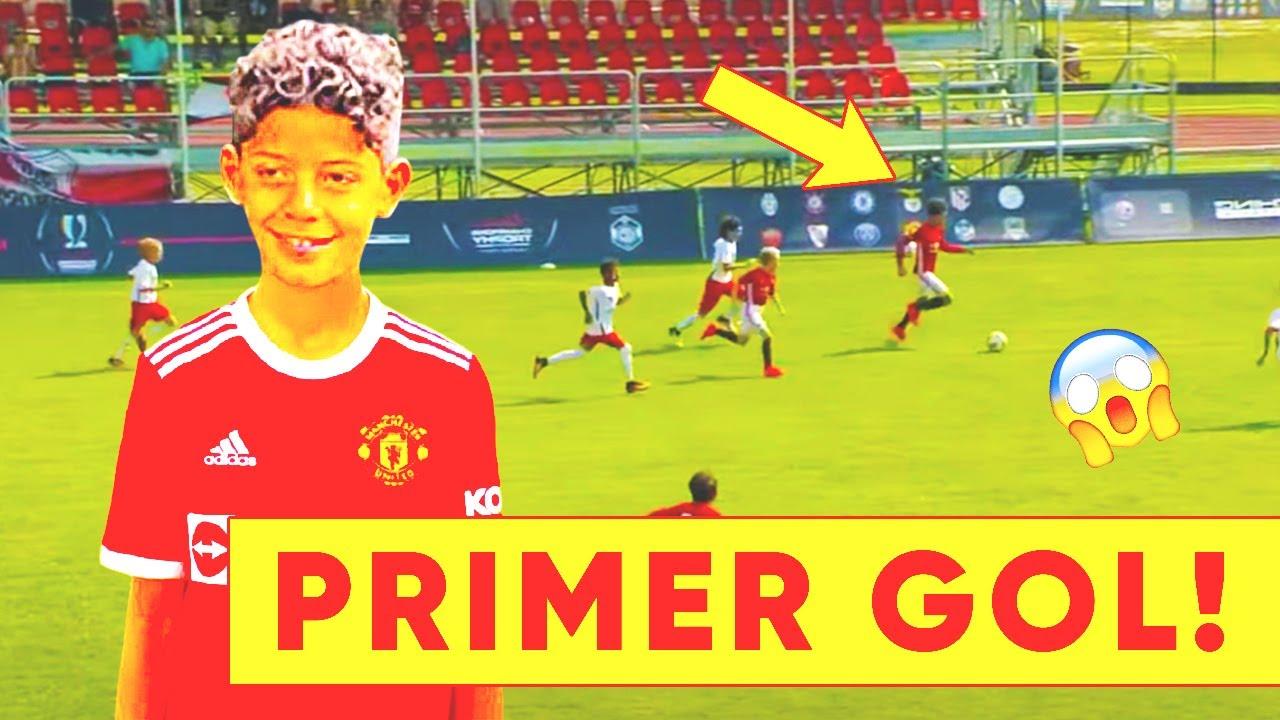 Download ¡PRIMER GOL DE RONALDO JR CON EL MAN UTD! ¡Cristiano ya está rompiendo con el Manchester United!