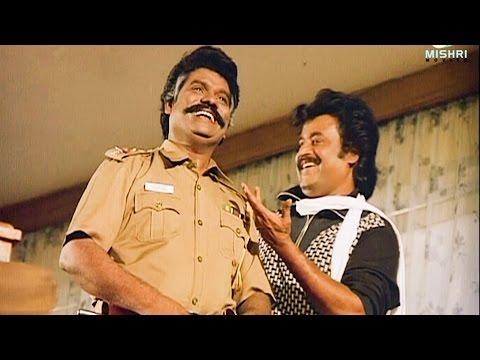 Superstar Rajinikanth Comedy Scenes | Guru Sishyan Comedy | Manorama | Prabhu | Super Comedy Scenes
