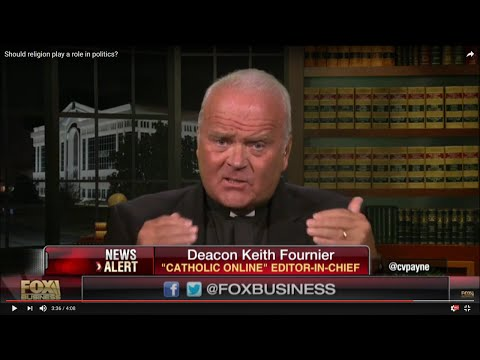 Watch Catholic Online Editor-in-Chief, Deacon Keith Fournier on Fox Business News HD
