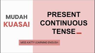 Download lagu BELAJAR PRESENT CONTINUOUS TENSE | Bahasa Inggris