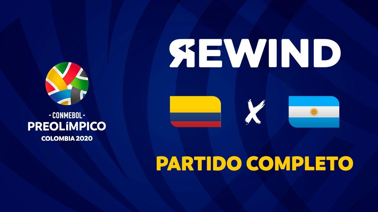 Colombia vs Argentina | Preolímpico 2020 [Partido Completo]