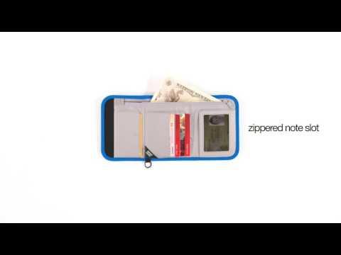 Pacsafe RFIDsafe V125 RFID Blocking Compact Wallet @ www.bagworld.com.au