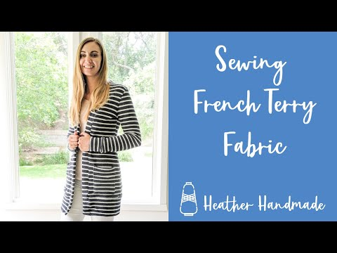 Sewing French Terry Fabric - YouTube