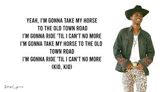 Lil Nas X - Old Town Road (feat. Billy Ray Cyrus)(Lyrics)