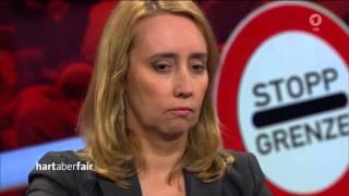 """hart aber fair """"Angezählt – wie viel Zeit bleibt Merkel noch?"""" [HD]"""